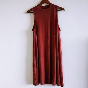 Urban Outfitters Women Mini Burgundy Red Dress M